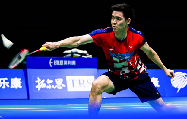 Cheam June Wei to play Kidambi Srikanth in Orleans Masters third round. (photo: AFP)