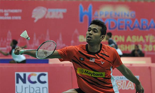 Iskandar Zulkarnain enters the Polish Open quarter-finals. (photo: AFP)