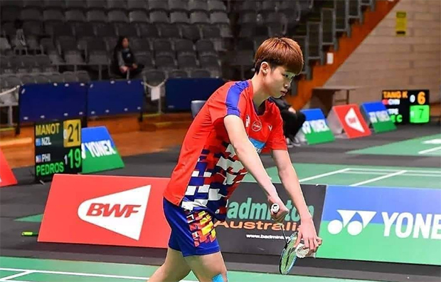 Ng Tze Yong advances to the Polish Open final. (photo: BAM)