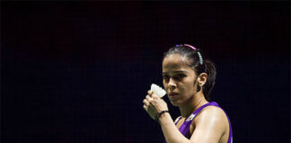 Saina Nehwal loses in the 2021 Orleans Masters semi-finals. (photo: AFP)