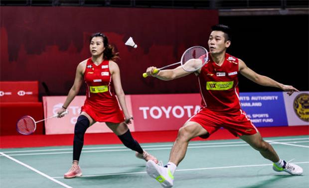 Chan Peng Soon/Goh Liu Ying make Swiss Open quarter-finals. (photo: Shi Tang/Getty Images)