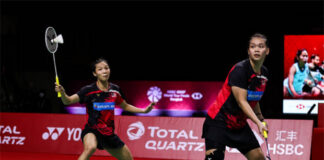 Chow Mei Kuan/Lee Meng Yean enter the Swiss Open semi-finals. (photo: Shi Tang/Getty Images)