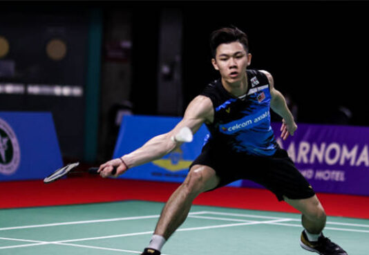 Lee Zii Jia could very well redeem himself at the Swiss Open after the disappointments at 3 back-to-back tournaments in Jan of 2021. (photo: Shi Tang/Getty Images)