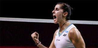 Carolina Marin to play PV Sindhu in the Swiss Open final. (photo: Shi Tang/Getty Images)