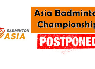 Asia Badminton Championships (ABC) has been postponed.