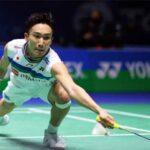 Greater the setback, stronger the comeback for Kento Momota. (photo: Naomi Baker/Getty Images)
