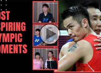 Lee Chong Wei vs. Lin Dan - The Most Memorable Olympic Moments. (Video by Chinese Badminton Association, Edited by BadmintonPlanet.com)