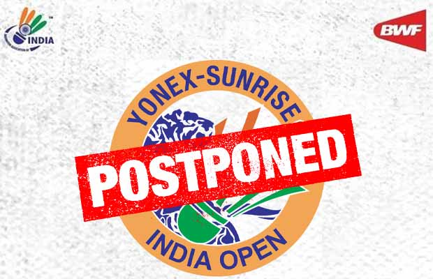 The 2021 India Open has been postponed.