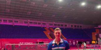 Viktor Axelsen eyes his third European Badminton Championships title in Kyiv. (photo: Viktor Axelsen's Facebook)