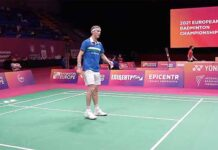 Viktor Axelsen is unstoppable at the European Championships. (photo: Badminton Europe)