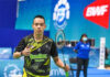 Cheah Liek Hou enters Dubai Para Badminton International Final. (photo: James Varghese)