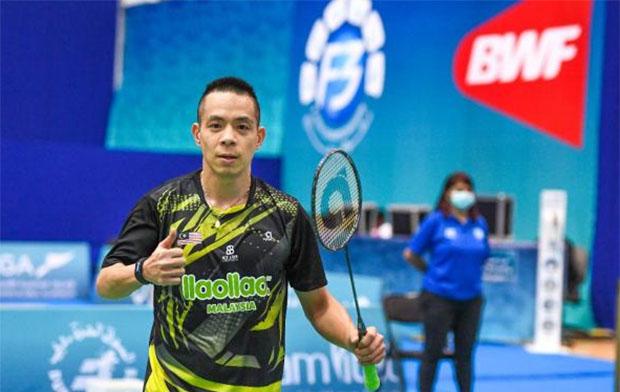 Cheah Liek Hou enters Dubai Para Badminton International Final. (photo: James Varghese)