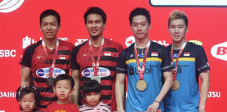 Kevin Sanjaya Sukamuljo/Marcus Gideon & Mohammad Ahsan/Hendra Setiawan to only playing in Malaysia Open and Singapore Open. (photo: AFP)