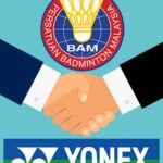 BAM is about to officially sign a new sponsorship deal with YONEX.