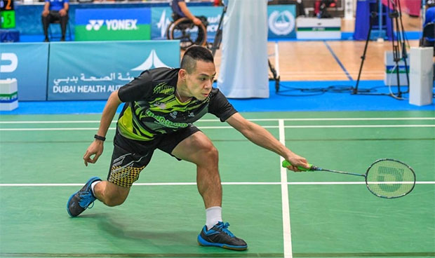 Cheah Liek Hou eyes success at Tokyo Paralympics. (photo: BWF)