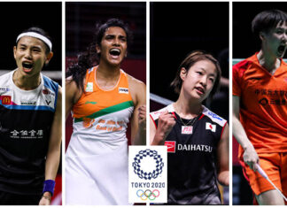 Tai Tzu Ying, PV Sindhu, Nozomi Okuhara, and Chen Yufei are overwhelming favorites to win gold in Tokyo Olympics.
