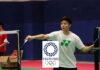 Shi Yuqi busy preparing for the Tokyo Olympics. (photo: Badminton China)