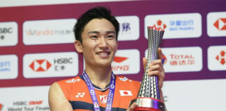 Kento Momota wins the 2019 World Tour Finals in Guangzhou, China while the 2021 World Tour Finals will be staged in Bali, Indonesia. (photo: BWF)