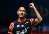Jonatan Christie aims to do well in the Tokyo Olympics. (photo: Robertus Pudyanto/Getty Images)