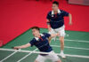 Best of luck to Aaron Chia/Soh Wooi Yik in the Olympic men's doubles quarter-finals. (photo: AFP)