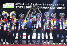 China wins the 2019 Sudirman Cup. (photo: AFP)