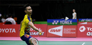 Lee Chong Wei supports BAM's decision of sending young players to Sudirman Cup and Thomas & Uber Cup Finals. (photo: Bernama)