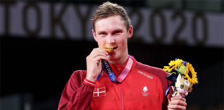 Danish media expect a decline in Viktor Axelsen's popularity. (photo: Lintao Zhang/Getty Images)