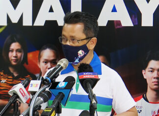 BAM's president, Tan Sri Mohamad Norza Zakaria announces names of Malaysian players selected for the Sudirman Cup, Thomas Cup, and Uber Cup Finals.