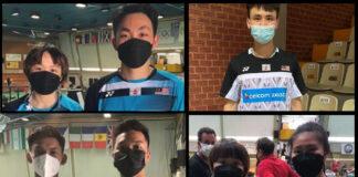 Congratulations to Yap Roy King/Valeree Siow, Lee Shun Yang, Junaidi Arif/Muhammad Haikal, and Low Yeen Yuan/Valeree Siow for winning the Hellas International. (photo: BAM)