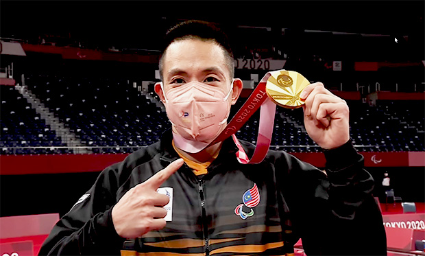 Cheah Liek Hou to donate part of the USD $265,284 reward to charity. (photo: Paralympics)