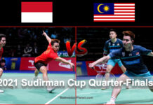 Malaysia to face Indonesia in the 2021 Sudirman Cup quarter-finals. (photo: Shi Tang/Getty Images)