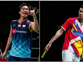 Will Kento Momota vs. Lee Zii Jia slowly become the Lee Chong Wei vs. Lin Dan 2.0?(photo: Shi Tang/Getty Images)