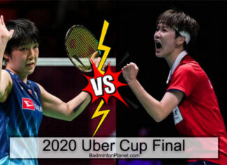 Japan's Akane Yamaguchi (L) has an 11-8 career head-to-head meeting with Chen Yufei of China ahead of Saturday's Uber Cup final.(photo: Shi Tang/Getty Images)