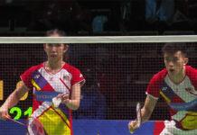 Hoo Pang Ron/Cheah Yee See Malaysia Bounce Back to Power Malaysia Past Indonesia 3-2.