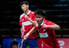 Wang Yi Lyu/Huang Dong Ping are undoubtedly the most reliable players for the Chinese team in the most critical moments at the 2021 Sudirman Cup. (photo: Shi Tang/Getty Images)