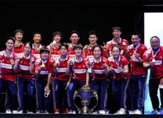 China's men's and women's teams are heavy favorites to win the 2020 Thomas and Uber Cups. (photo: Shi Tang/Getty Images)