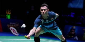 Lee Zii Jia is the new leader of the Malaysian badminton team. (photo: Shi Tang/Getty Images)