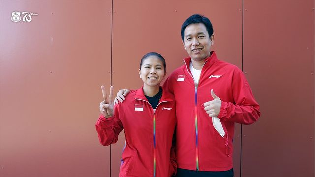 Hendra Setiawan and Greysia Polii become captains of Indonesia's Thomas and Uber Cup Teams. (photo: PBSI)