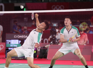 Lee Yang/Wang Chi-lin to spearhead Chinese Taipei's battle at the 2020 Thomas Cup Finals. (photo: BWF)